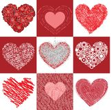 Group heart Stock Images