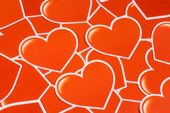 Group of heart Royalty Free Stock Images
