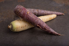 Group of heirloom carrots - 2 Stock Photography