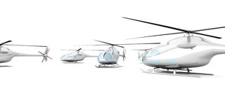 A group of Helicopters Stock Photos