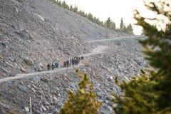 Group hike Royalty Free Stock Image