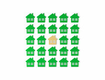 Group homes Royalty Free Stock Photography