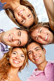 Group hug Royalty Free Stock Photos