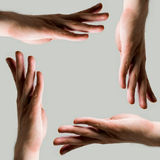 Group of human hands Royalty Free Stock Image
