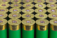Group hunting cartridges Royalty Free Stock Photography