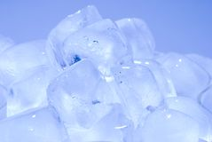 Group of ice cube Stock Image
