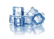 Group of ice cubes Royalty Free Stock Photos