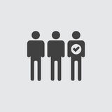 Group icon illustration Stock Photo