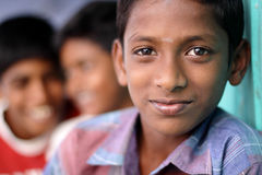 Group of Indian boys Stock Photo