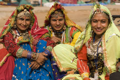 Group of Indian Dancers in Traditional Dress