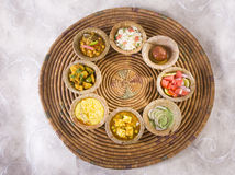 Group of Indian Food Stock Image
