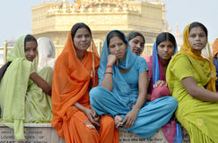 Group of Indian Girls Stock Photos