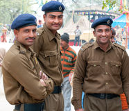 Group of Indian policemen Royalty Free Stock Image