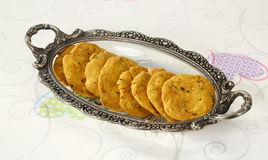 Group of Indian snack - Mathi Royalty Free Stock Photo