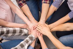 Group interaction Royalty Free Stock Images