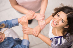 Group interaction Royalty Free Stock Photo
