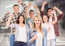 Group interaction Stock Photo