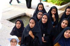 A group of Iranian girls, Iran stock image