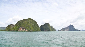Group of islands in Andaman sea Royalty Free Stock Image