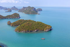 Group of Islands National Park. Royalty Free Stock Images