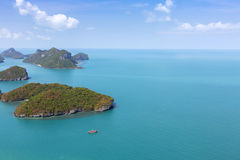 Group of Islands National Park. Stock Photography