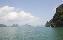 Group of Islands in Thailand Royalty Free Stock Photo