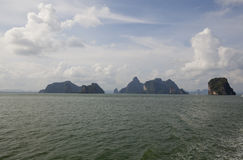 Group of Islands in Thailand Stock Image