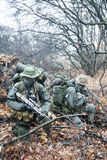 Group of jagdkommando soldiers Stock Images