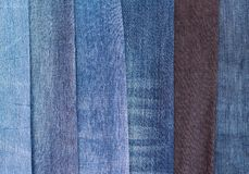 Group of jeans Stock Photography