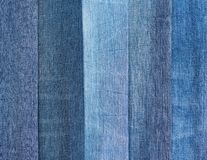 Group of jeans Royalty Free Stock Photography