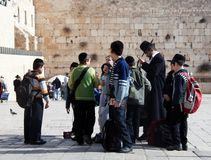 Group of Jewish children Stock Image