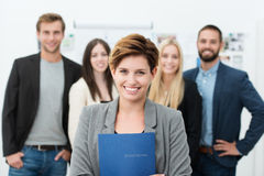 Group of job applicants Stock Image