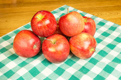 Group of Jonagold apples Royalty Free Stock Images