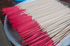 Group of joss stick Stock Images