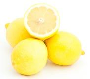 Group of juicy lemons Royalty Free Stock Photo