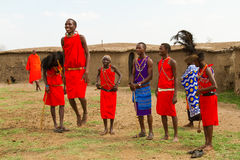 A group of kenyan Royalty Free Stock Images