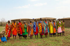 A group of kenyan women Royalty Free Stock Photography