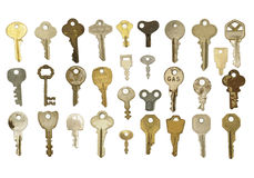 Group of Keys Royalty Free Stock Image
