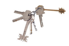 Group of keys Stock Photo