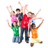 Group of kids Stock Image