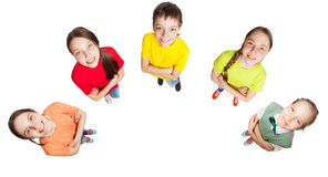 Group kids Royalty Free Stock Photos