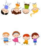 Group of kids having fun Royalty Free Stock Image