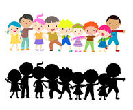 Group of kids Royalty Free Stock Photos