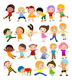 Group of kids Stock Photography