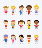 Group of kids Royalty Free Stock Photography