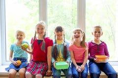 Kids at school royalty free stock image