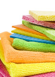 Group of kitchen sponges Royalty Free Stock Photos