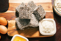 Group of Lamingtons Royalty Free Stock Image