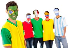 Group of Latin American people Royalty Free Stock Photos