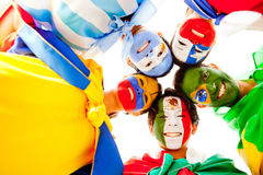 Group of Latin American people Stock Photos